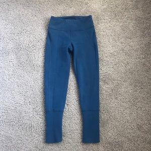 Blue free people leggings